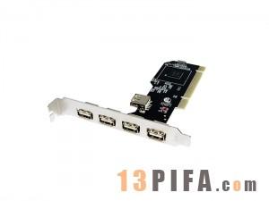 PCI/USB卡4+1