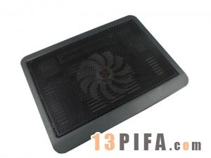 [黑色]N19 笔记本电脑散热垫\散热器