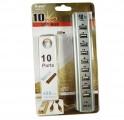 10口高速标准2.0带电源集线器HUB[贴片IC]