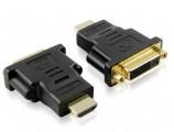 HDMI 公M/DVI 母F 转接头
