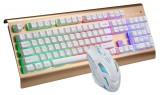 [U+U]G300 追光豹机械手感悬浮式背光键盘