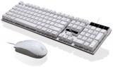 [白色U+U]Q17 追光豹悬浮式机械手感商务办公键鼠套装