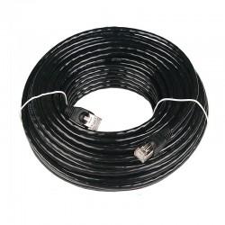 [防水铁壳]20米CAT5全铜户外防水超五类网线