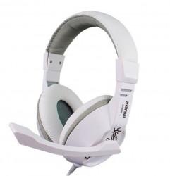 [白色]H6880 现代/HYUNDAI头戴式立体声电脑耳机