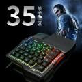 GK103力镁七彩发光单手游戏键盘